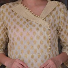Latest Kurti neck designs Latest trends in Beauty, Fashion, Indian outfit ideas, Wedding style on your mind? We bring to you hand picked collections for inspiration - Latest Kurti neck designs Chudidhar Neck Designs, Salwar Neck Designs, Neck Designs For Suits, Kurta Neck Design, Sleeves Designs For Dresses, Neckline Designs, Dress Neck Designs, Design Of Kurti, Neck Design For Kurtis