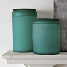 The Sea Glass Containers ($19 and up) are made in Mexico from | 16 ...