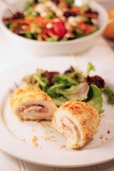 Tyler Florence Chicken Cordon Bleu  http://bakedinthesouth.com/2014/01/tyler-florences-chicken-cordon-bleu/