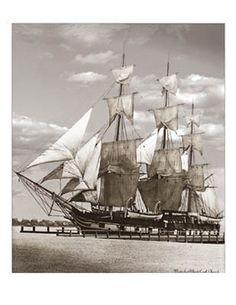 19th Century Sailing Photographs | 19th Century Sailing Ships / Charles W Morgan