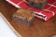 Fudgy Gluten Free Brownies - These are so good and contain regular everyday ingredients.