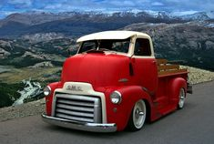 Old Pickup Trucks | ... Pickup Truck Photograph - 1949 Gmc Cab Over Pickup Truck Fine Art