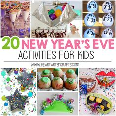 I love celebrating the end of the year with my family, so I've gathered 20 New Year's Eve Kid Friendly Crafts and Activities for those who celebrate with little ones like we do! 20 New Year's Eve Kids Crafts & Activites Click on the links below for instructions. 1. New Year's Eve Wishing Tree – From No …