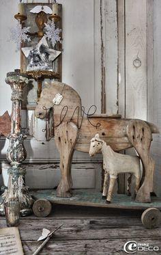 charming antique horses