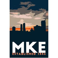 Milwaukee Skyline, Milwaukee Art Museum, Milwaukee Wisconsin, Morning Sunrise, Wall Art Prints, Wrapped Canvas, Craft Supplies, Illustration Art, Wall Decor