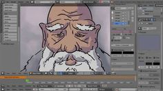 Blender 2.73 Grease Pencil animation - very cool!
