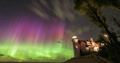 Auroras boreales y la Luna desde Kyyjärvi, Finlandia – El Universo Hoy