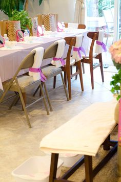 """I did for my daughter's 7th Birthday...She wanted the theme of """"Little girls Day Spa party"""" It was so much fun to see her eyes light up...Something she will always remember. : )"""