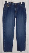 Cinch Jeans Mens 38X34 Black Label Relaxed Dark Wash MB90633002