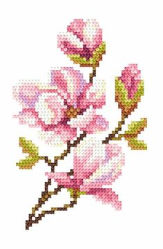 This Pin was discovered by nev Cross Stitch Love, Cross Stitch Borders, Cross Stitch Flowers, Cross Stitch Designs, Cross Stitching, Cross Stitch Embroidery, Hand Embroidery, Cross Stitch Patterns, Crochet Cross