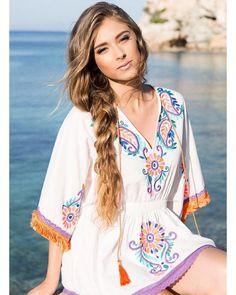 Maricabe dress from our cruisier collection. Shopping online www.asommerlife.com FREE Shipping Worldwide!! Buy More models on the web  #ibizagang #bohobabes #bohogirls #bohemianstyle #kaftan #lifestyle #ibizastyle #moda #fashion #fashionblogger #trendy #bohochic #formentera #ibiza #estilista #tendencias #new #ibizalife #ibiza2016 #boho #bohemian #bohostyle #hippy #beachstyle #fashionblogger #hippiechic #gypsystyle #gypsy #followme #dress