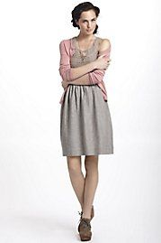 Textured Summer Sweater Dress anthropologie.com