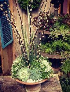 Trough Planter: Herbs And Trailing Vinca   Oak Street Garden Shop,  Birmingham, Al | Gardening | Pinterest | Trough Planters, Garden Shop And  Herbs