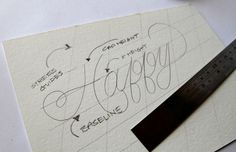 On the Creative Market Blog - Hand Lettering for Beginners