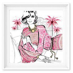 Limited Edition Print  - Versace: Pink Medusa