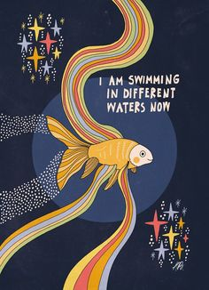 Online portfolio of an artist, illustrator and photographer Asja Boros that features a selection of her joyful, whimsical illustrations, creative and colorful photos and ongoing personal art projects. Positive Vibes, Positive Quotes, Motivational Quotes, Inspirational Quotes, Positive Art, Now Quotes, Quotes To Live By, Pretty Words, Beautiful Words