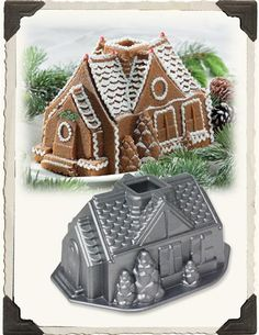 Gingerbread House Cake Mold from Victorian Trading Co.