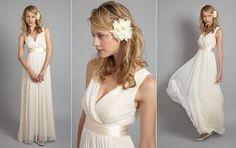 Casando com Economia: Idéias de vestidos para um casamento mais simples ou diurno