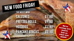 The Port Cafe will be rolling out new additions to the menu today and every Friday for the next few weeks. Today's menu includes a tasty selection of American treats! If you like them, let the staff know! Your favourites will be permanently added to the cafe menu. #wirral #college #menu #ellesmereport