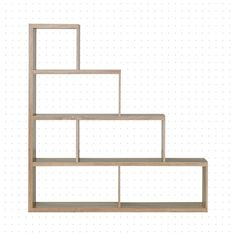 Dotted Line Greta Step Bookcase Step Bookcase, Step Shelves, Wood Shelves, Shelving, Bookcases, Steps Design, Open Floor, Small Apartments, Space Saving