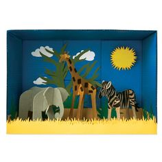 On the savannah, safariers will find resilient plants and herds of animals like the three-dimensional beauties in this educational diorama. Let's stay connected http://www.accucuteducation.com/Sign-up-for-E-mails-W3.aspx