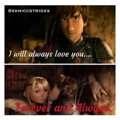 Forever and always. < Sweet Hiccstrid. :)