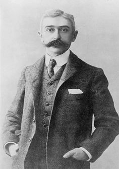 Baron Pierre de Coubertin, the founder of the modern Olympic Games