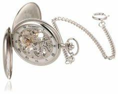 Impulse PG200S Tasche Mechanical Silver Pocket Watch Steinhausen. $474.98