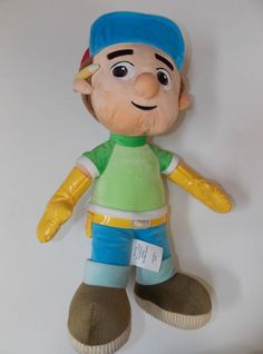 "Disney Store Exclusive Handy Manny Plush Stuffed Doll 17""  Soft Toy  #DisneyStore"