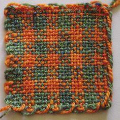 Check Weave on a Weavette Loom