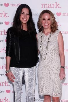 #rebeccaminkoff <3's mark event! Rebecca with our VP of Product Development Gail Boye!