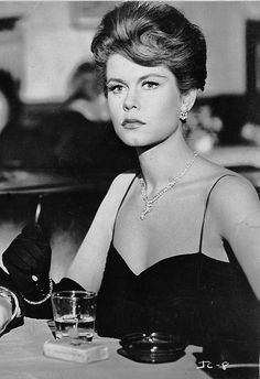 Elizabeth Montgomery - 'Johnny Cool' - 1963. So many actors you'll recognize in this film :-)