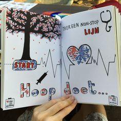 Wrech This Journal create a non stop line trek een non-stop lijn