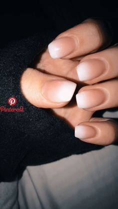 52 Pretty French Nail Designs Are The Current Trend is part of Fake nails Ombre Glitter - Artistic nail designs are getting to be increasingly more popular, and we have to emphasize that it's an amazing means … Bride Nails, Wedding Nails, Cute Nails, Pretty Nails, Hair And Nails, My Nails, French Tip Nails, Nail French, Ombre French Nails