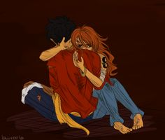 im not really into LuNa but this pic is so good // One Piece // Luffy x Nami