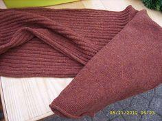 Ravelry: HelleMajlund's machine knitting: machine-knitted version of Bente Geil's Sleevery pattern
