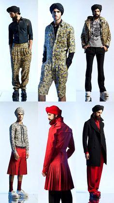 Jean Paul Gaultier Menswear Spring 2013 Collection | Tom & Lorenzo Fabulous & Opinionated