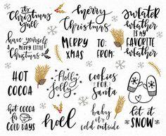 Christmas clipart / Christmas quotes / Christmas clip art /