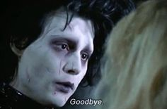 For Those Whose Sexual Awakening Was Caused By Edward Scissorhands