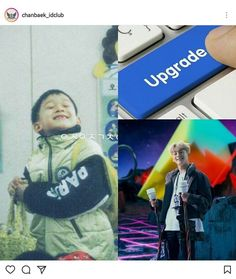 cute then, cute now // #exo #power #chen #jongdae