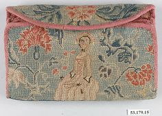 Purse- Date: 1725–40 Geography: New England, Connecticut, United States Culture: American