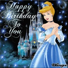 58 Ideas happy birthday gif children for 2019 Happy Birthday Emoji, Happy Birthday Printable, Birthday Wishes For Kids, Happy Birthday Princess, Happy Birthday Wishes Cards, Happy Birthday Celebration, Cinderella Birthday, Happy Birthday Pictures, Disney Birthday