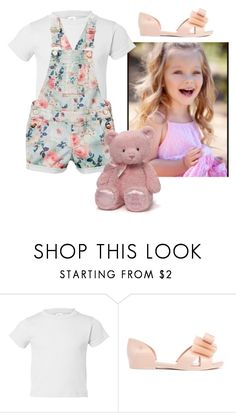 """""""Kids"""" by mbubbles109 ❤ liked on Polyvore featuring Melissa and Gund"""