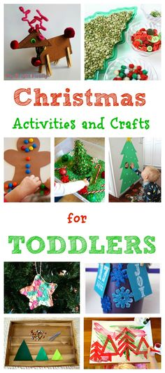 Fun and Easy Christmas Activities and Crafts for Toddlers + HUGE Cash Giveaway