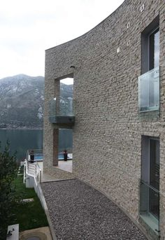 Embracing Magnificent Sea Views: Modern Villa in Stoliv, Montenegro