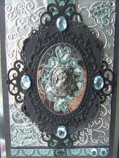 'Antique Frame' - 3 in 1 Tattered Lace Die available exclusively from hobbycraft. Submitted by Chris Godfrey.