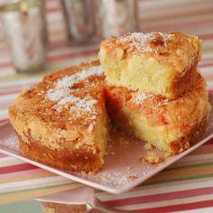 Gâteau à la pomme et à la noix de coco