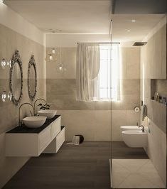 Small Space Bathroom, Small Spaces, Bathroom Interior, Modern Bathroom, Wet Room Shower, Nordic Home, Wet Rooms, Bathroom Inspiration, Sweet Home