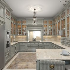 Kitchen lighting design done right can make a big difference in enjoying your kitchen. cabinets decor ideas top of Kitchen Lighting Design, Luxury Kitchen Design, Best Kitchen Designs, Luxury Kitchens, Interior Design Kitchen, Cool Kitchens, Tuscan Kitchens, Room Interior, Grey Kitchen Cabinets