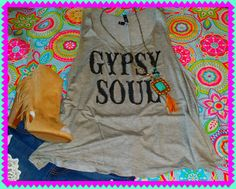 Grey Gypsy Soul Tank · The Sister's Boutique · Online Store Powered by Storenvy